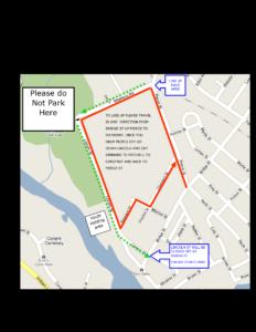Parade Lineup Map 2016
